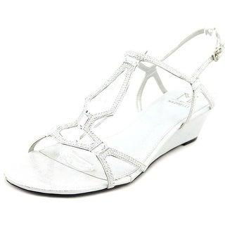 M by Marinelli Magic Women Open Toe Synthetic Wedge Heel