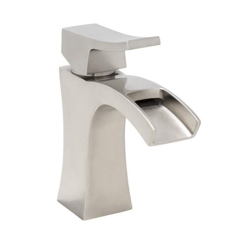 Mirabelle MIRWSCVL105 Vilamonte 1.2 GPM Single Hole Bathroom Sink Faucet - Pop-Up Drain Assembly Included -