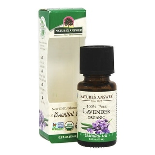 Nature's Answer Essential Oil Lavender 0.5-ounce