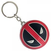 Marvel Deadpool Logo Metal Keychain - Multi