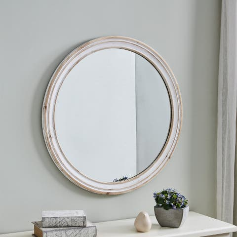 FirsTime & Co.® Clybourne Farmhouse Mirror, Mirror, 30 x 1 x 30 in, American Designed - 30 x 1 x 30 in