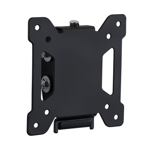 "Mount-It! Tilting TV and Computer Monitor Wall Mount Bracket Fits 24, 27, 30 and 32"" Screens Up to VESA 100 Black MI-203T"