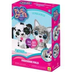 Dog & Cat - Plush Craft Fabric Fun Kit Pawsome Pals 2/Pkg