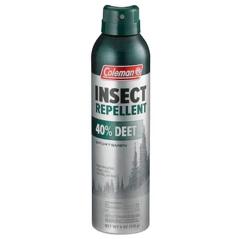Coleman 7356 Sportsmen Insect Repellent, 40% Deet, 6 Oz