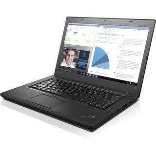 "Lenovo ThinkPad T460 20FN002NUS 14"" Notebook - Intel Core i5 (6th (Refurbished)"