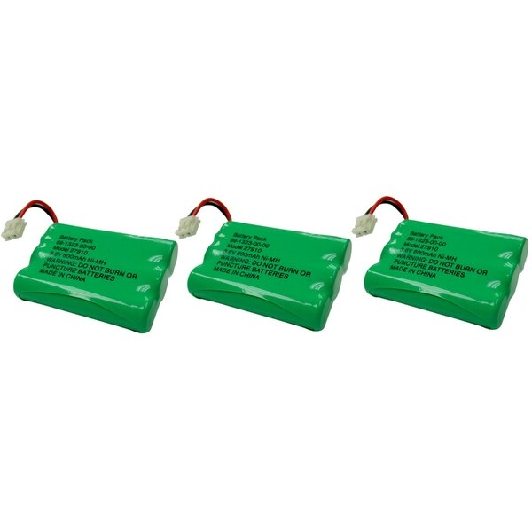 27910 For GE/RCA-3 Pack Replacement Battery
