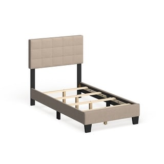 Link to Taylor & Olive Tuxbury Upholstered Twin Platform Bed Similar Items in Kids' & Toddler Furniture