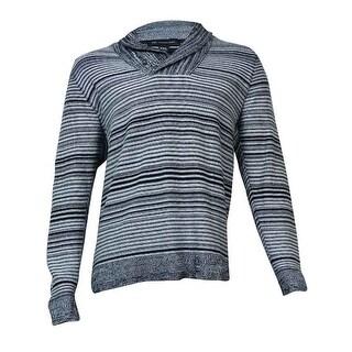 INC International Concepts Men's Shawl-Collar Sweater (White Pure, XXL) - XXL
