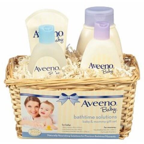 AVEENO Baby Daily Bathtime Solutions Gift Set 1 ea