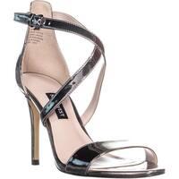 Nine West Mydebut Dress Heel Sandals, Pewter