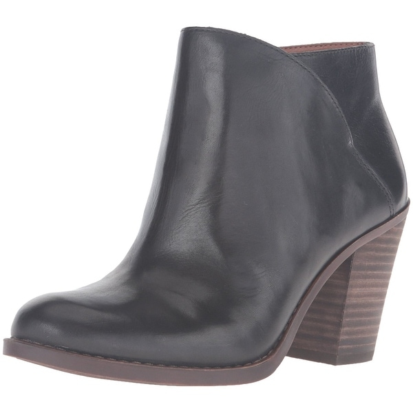 Lucky Brand Womens eesa Leather Closed Toe Ankle Fashion Boots