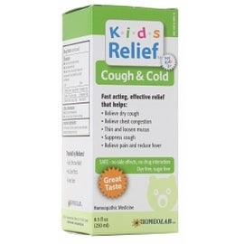 Homeolab USA Kids Relief Cough & Cold 8.5 oz