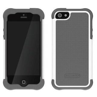 Ballistic SG0926-M185 Shell Gel Case for Apple iPhone 5 (White/Gray)