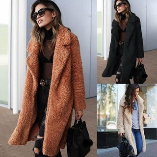 Link to Autumn And Winter Fashion Lapel Long Coat Similar Items in Women's Outerwear