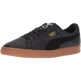 puma basket classic gum deluxe sneakers