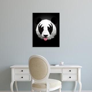 Easy Art Prints Robert Farkas's 'Panda Rocks' Premium Canvas Art