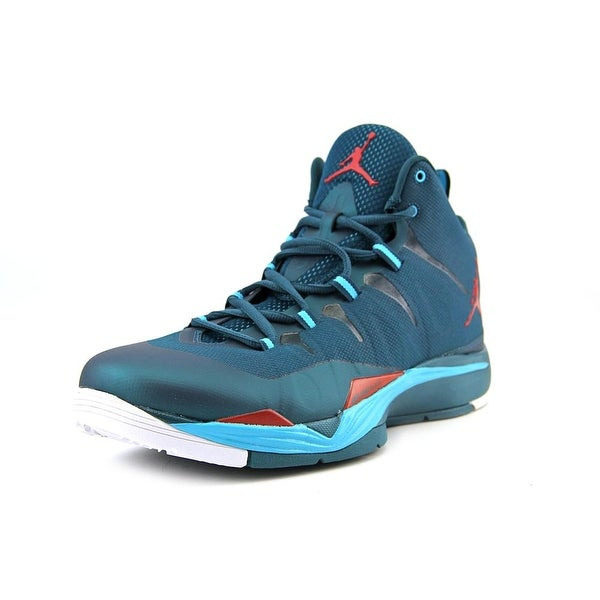Jordan Super.Fly 2 Women Round Toe Synthetic Blue Basketball Shoe