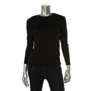 Zara Knit Womens Crew Neck Long Sleeves Pullover Sweater - L