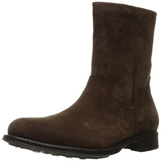 Kenneth Cole New York Mens Action Packed Ankle Boots Suede Combat - 8 medium (d)
