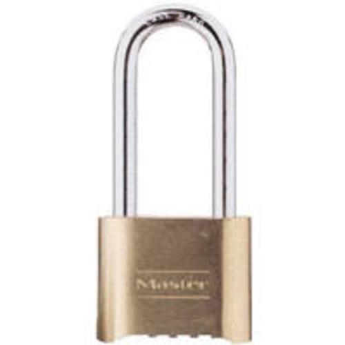"Master Lock 175DLH Resettable Combo Padlock 2-1/4"" Reset"