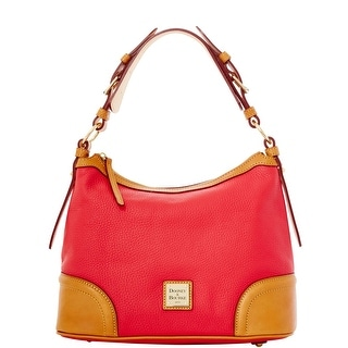 Dooney & Bourke Pebble Grain Hobo (Introduced by Dooney & Bourke at $248 in Jun 2012) - Fuchsia