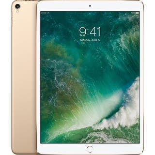 "Apple 10.5"" iPad Pro (64GB, Wi-Fi + 4G LTE, Gold)