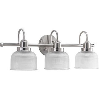 Miseno MLIT7704 Bella 3-Light Bathroom Vanity Light - Reversible Mounting Option