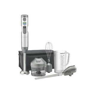 Cuisinart CSB-300 Smart Stick Variable Speed Cordless Rechargeable Hand Blender w/ Electric Knife