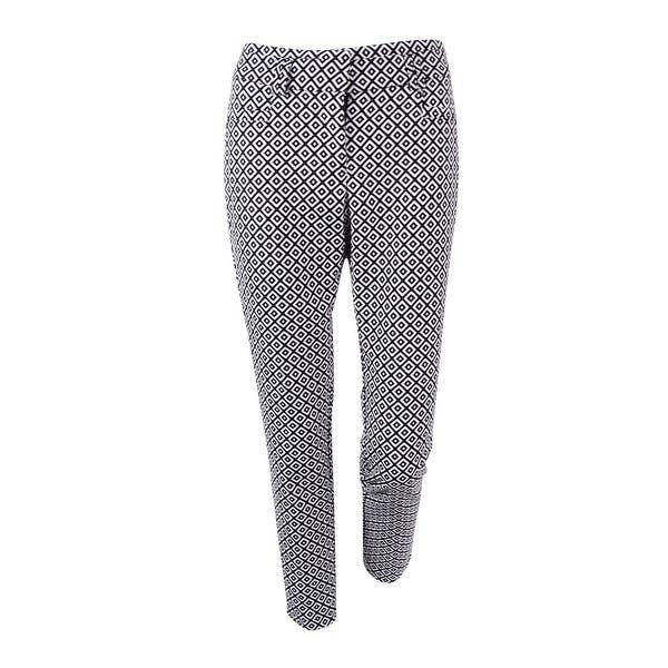 Xoxo Juniors Geo Print Sophie Dress Pants Black 56 Free
