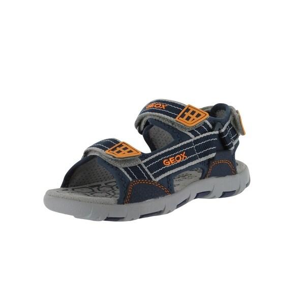 Geox Boys' Pianeta A Open Toe Sandal