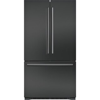Bosch B21CT80SN 36 Inch Wide 20.7 Cu. Ft. Energy Star Rated French Door Refriger