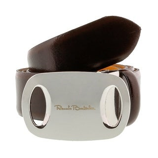 Renato Balestra Z075S Smooth Leather Mens Belt