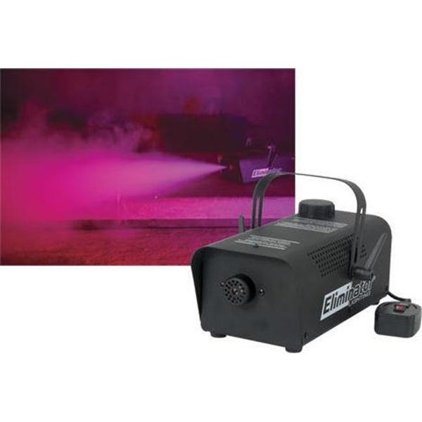 4 500 cubic ft. of fog per minute fogger with 700 Watt heater