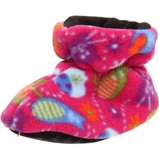 Acorn Bootie Slippers Fleece Infant|https://ak1.ostkcdn.com/images/products/is/images/direct/e48ace22f9d08875461c15ed20cf98bce7360272/Acorn-Fleece-Infant-Bootie-Slippers.jpg?impolicy=medium