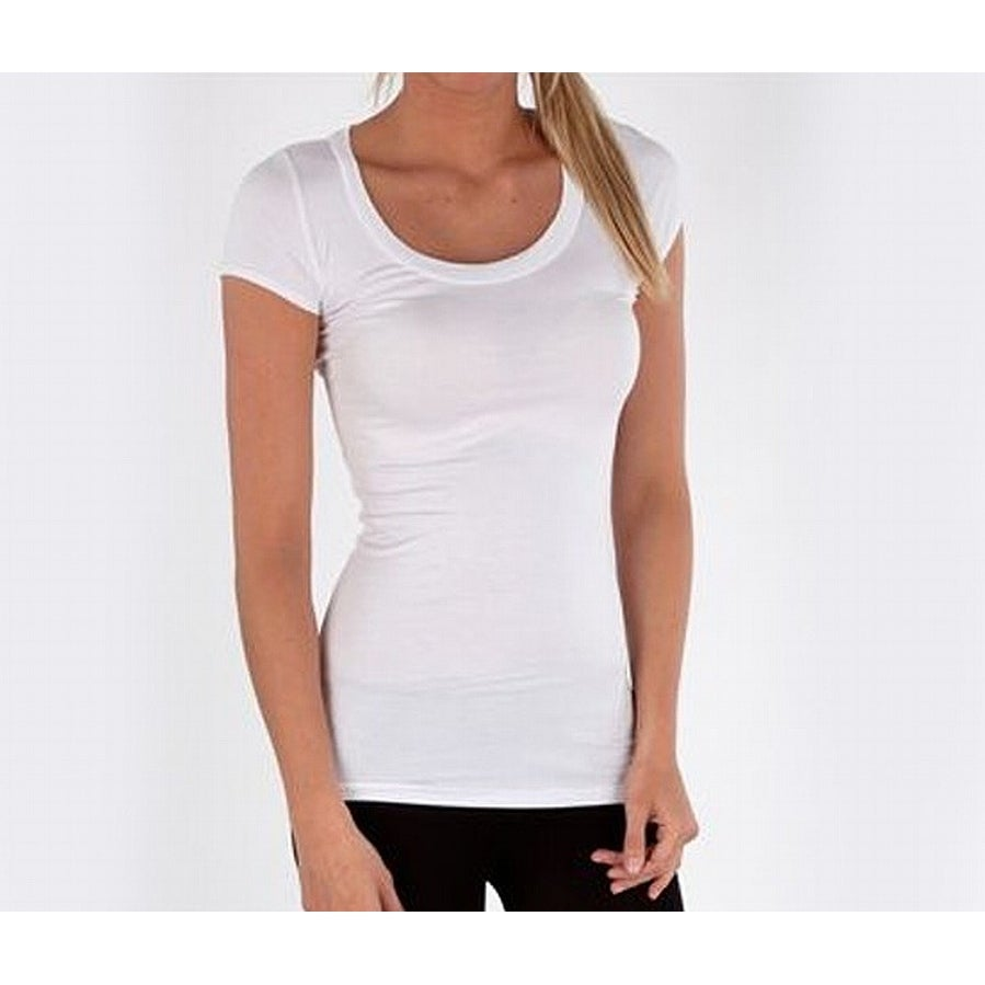 Harley-Davidson Women/'s L//S White Mock Turtleneck Black B/&S shirt Small