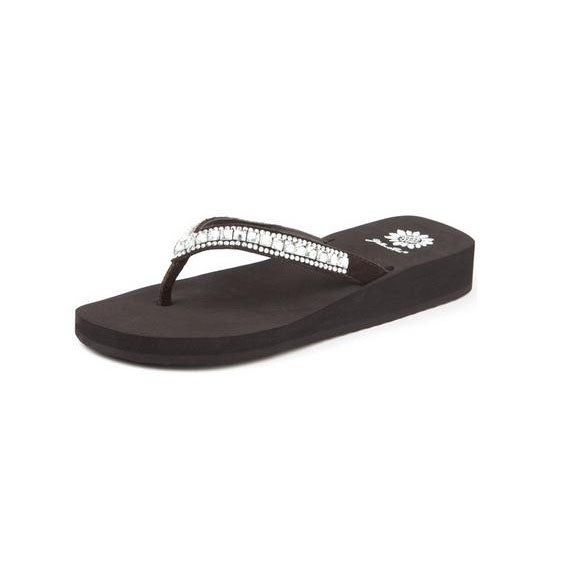 Yellow Box Womens Zabrina Fashion Flip Flop Sandals