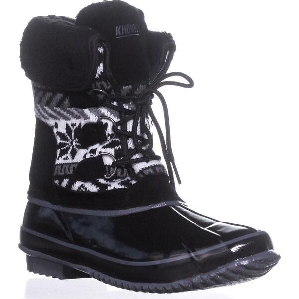 Khombu Mayana Cold Weather Boots, Black