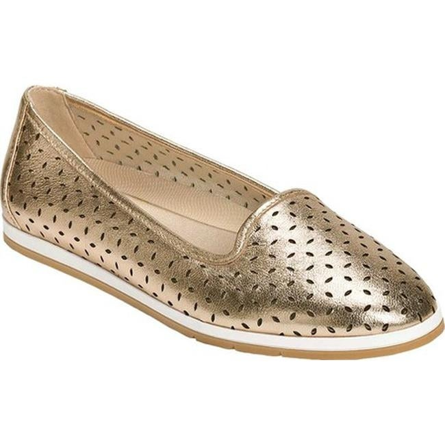Stay Smart Loafer Gold Leather