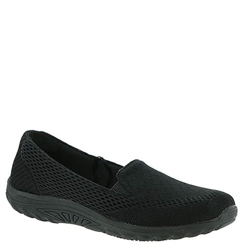 Skechers Work Relaxed Fit Sulloway - Moc SR Womens Slip Resistant Sneaker Black