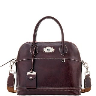 Dooney & Bourke Florentine Toscana Domed Satchel (Introduced by Dooney & Bourke at $448 in Sep 2016) - Espresso