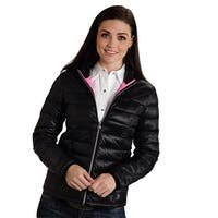 Roper Western Jacket Womens Cute Quilted Black