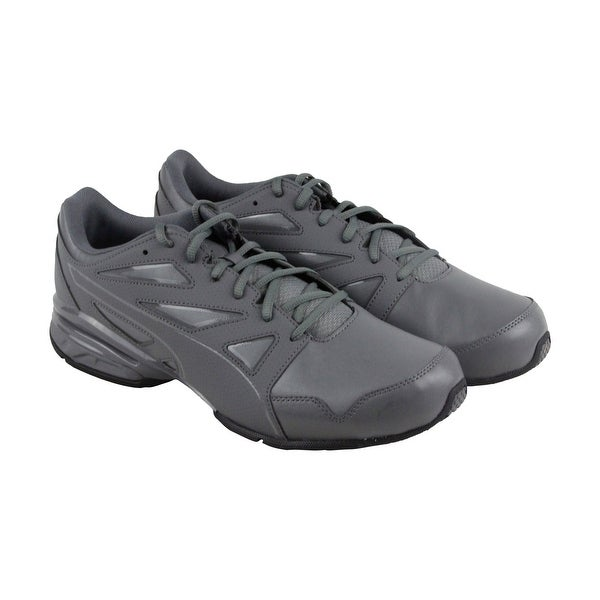 bf34d5222e7 Shop Puma Tazon Modern Fracture Mens Gray Synthetic Athletic Running ...