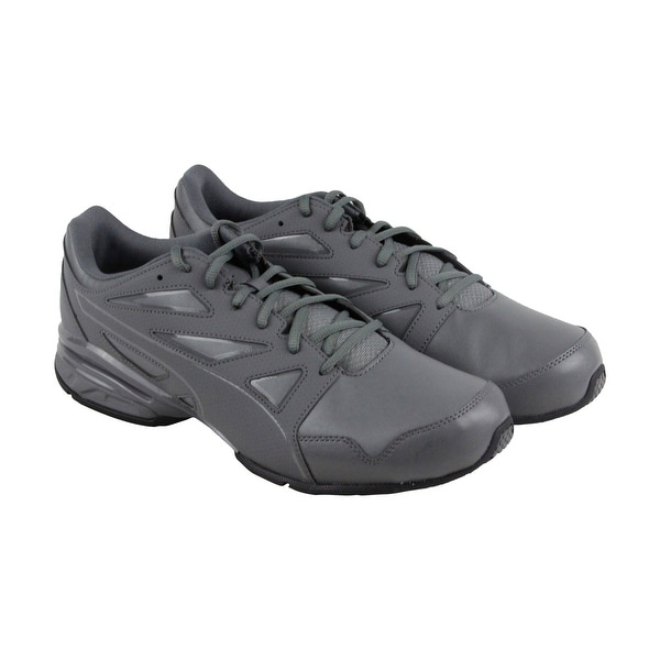 262b9c9585e520 Shop Puma Tazon Modern Fracture Mens Gray Synthetic Athletic Running ...