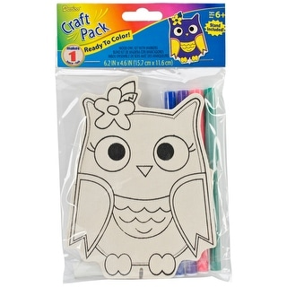 Wood Craft Pack-Owl