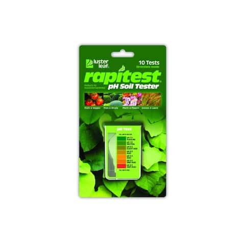 Luster Leaf 1612 Rapitest pH Soil Tester with 10 Test Direction