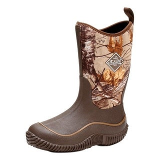 Muck Boots Boys Hale Camo Neoprene Waterproof Brown Real Xtra KBH-RTX