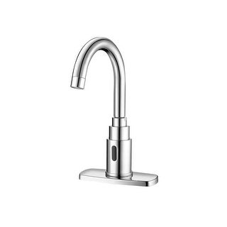 Sloan SF-2200 Sensor Activated, Electronic, Gooseneck Hand Washing Faucet for Tempered or Hot/Cold W