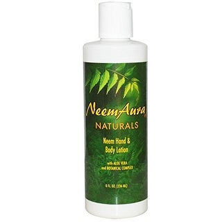 Neemaura Naturals Hand & Body Lotion with Aloe 8-ounce