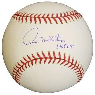 Paul Molitor Signed Rawlings MLB Baseball w/HOF'04