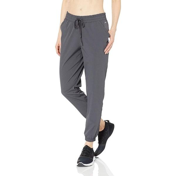 Essentials Womens Studio Woven Stretch Jogger Pant